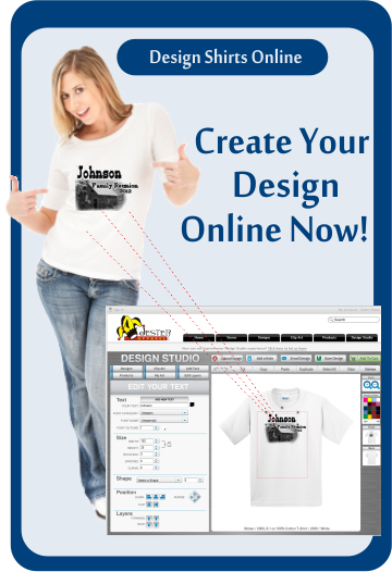 Design custom t-shirts online