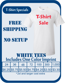 Custom T Shirts Screen Printing Embroidery Promotional